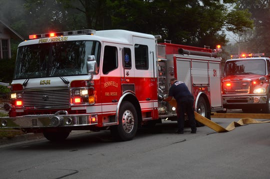 Fire engines will be displayed Wednesday at a Fire Prevent Week open house at Bailey Park from 6 p.m. to 8 p.m.