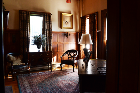 The Roberson Museum and Science Center will participate in the  Nanticoke Valley Historical Society's Path Through History Weekend. Pictured is Alonzo Roberson's study within the museum's mansion.