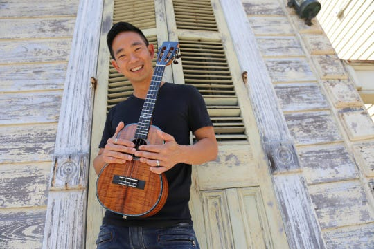 Jake Shimabukuro will perform Oct. 20 at the Tower Theater.