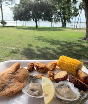 Enjoy the food and the view at Saturday's fourth annual Oyster & Fish Fry at Field Manor on Merritt Island.
