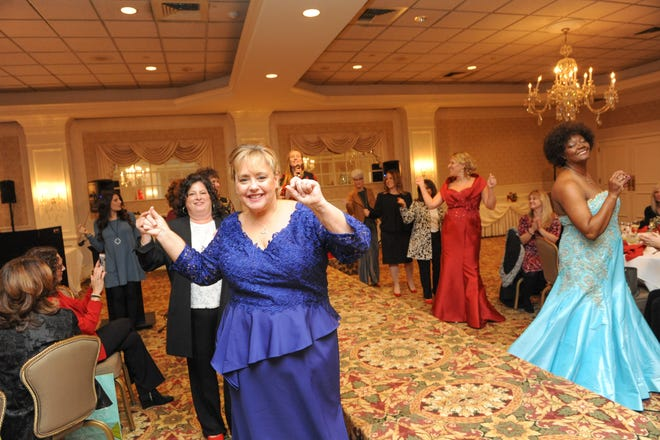 The fourth annual Red Shoe Luncheon and Fashion Show will be held on Friday, Dec. 6, at The Bridgewater Manor. This photo is from BW NICE Somerset County Chapter's 3rd annual Red Shoe Luncheon and Fashion Show.