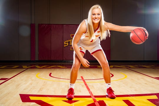 Iowa State is hoping to get more scoring out of Madison Wise this season.