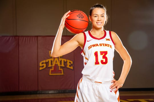 Adriana Camber is a captain for the Cyclones this season.