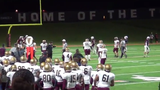 A former Des Moines Lincoln football coach resigned from his position and could face harassment charges after he confronted an official during Friday's game against Dowling Catholic.