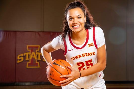Iowa State junior Kristin Scott is having another big season for the Cyclones.