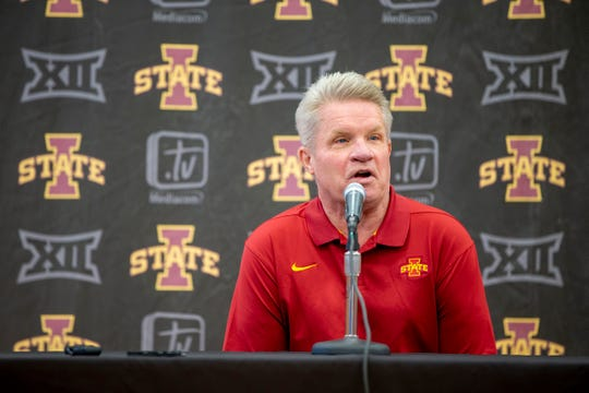 Iowa State coach Bill Fennelly credits the start of his head coaching career to Muffet McGraw.