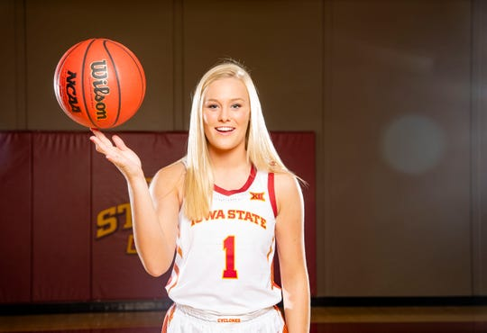 Iowa State junior Madison Wise is now healthy and back on the floor helping the Cyclones.