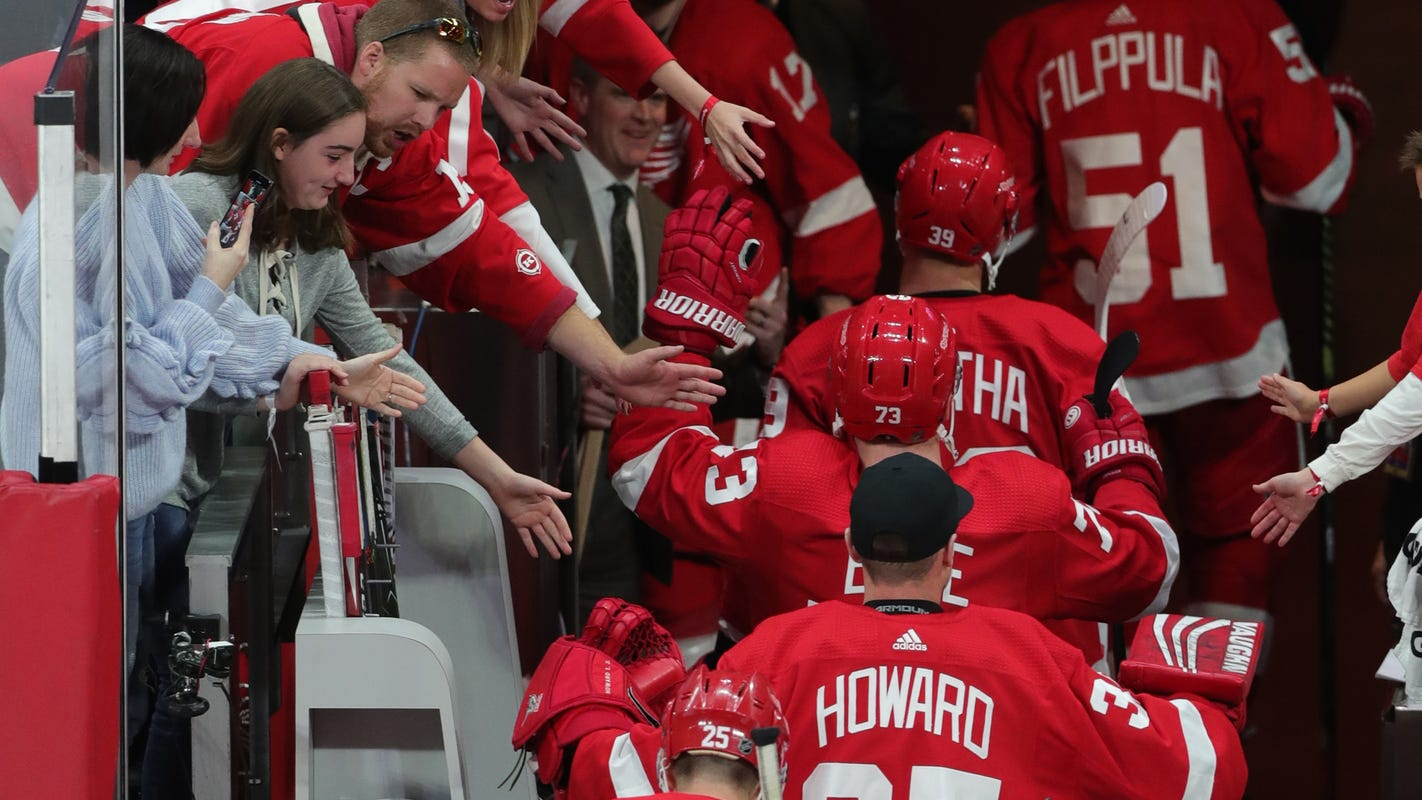 Detroit Red Wings roster: Who's back, who's not, and who's in between next season
