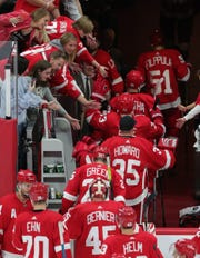 Goaltender Jimmy Howard (35) is among those who won't be back with the Detroit Red Wings in 2020-21.