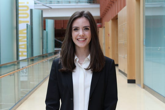 Jacqueline Kenny, 20, a junior at the University of Michigan Stephen M. Ross School of Business, wants to inspire more female students to consider jobs in investment banking, equity research and other finance-related fields.
