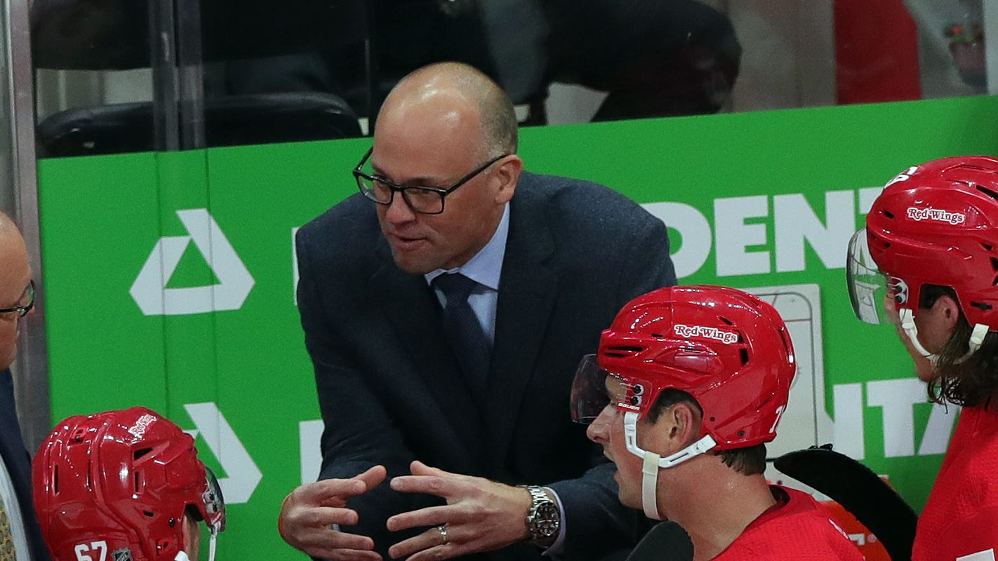 Detroit Red Wings' Jeff Blashill: NHL coach firings 'a bit crazy in the league'