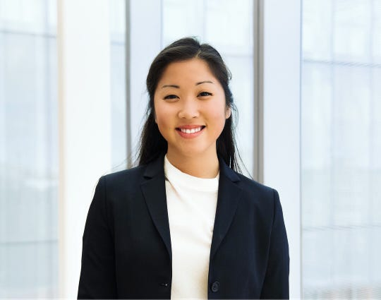 Elizabeth Bonvouloir, 21, a junior majoring in business at the University of Michigan, is a co-director of the ENGAGE Undergraduate Investment Conference where students interact with executives from across the country.