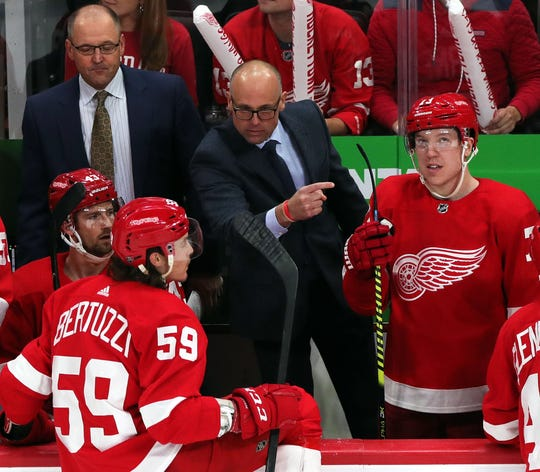 Which way is the exit? Could Detroit Red Wings' poor start (4-10-1) cost Jeff Blashill his job?