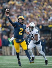 Shea Patterson and Michigan will square off with Penn State at 7:30 p.m. Oct. 19 in a game to be televised on ABC.