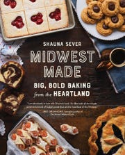 """Midwest Made"" cookbook by Shauna Sever comes out Oct. 22 and features a recipe for Sanders Bumpy Cake, plus pasties, paczki and other regional favorites."