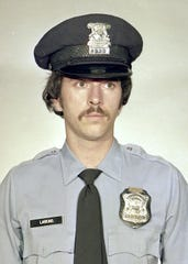 Detroit police officer Scott Larkins