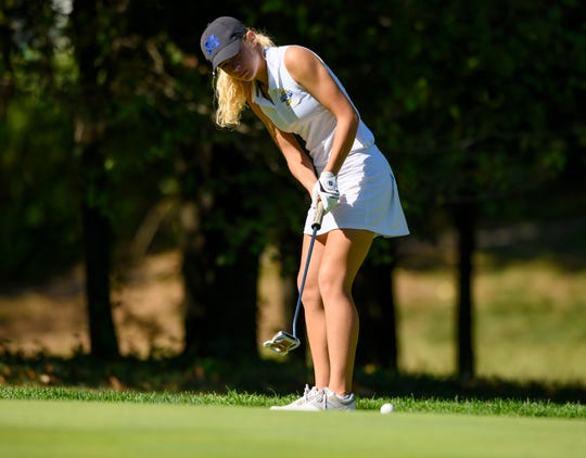 In addition to being a standout volleyball player, Basinski has helped send the Memorial golf team to the state finals the past two seasons as their No. 3 golfer.