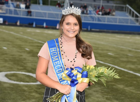 Alyssa Eisenhower was crowned Clyde High School Homecoming queen on Friday night.