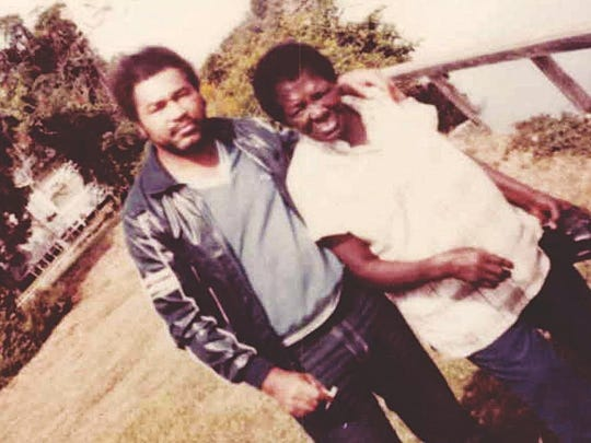"""Convicted killer Samuel Little, left, stands next to a woman he called """"Jean."""" Little told Fort Myers police that Jean (now identified as Orelia Jean Dorsey, who is deceased) used to sell clothes to his alleged victim's family in Fort Myers."""
