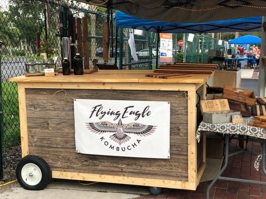 Flying Eagle Kombucha is made in Fort Myers and can be found at several local restaurants, breweries and farmers markets.