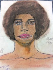 Sketch of possible local Fort Myers victim of convicted killer Samuel Little.
