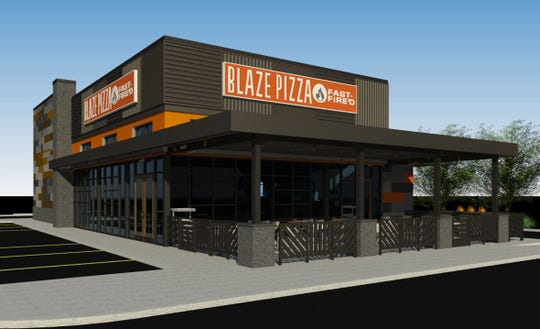 Blaze Pizza will be finished in 2020 at the Cypress Trace shopping center in Fort Myers.