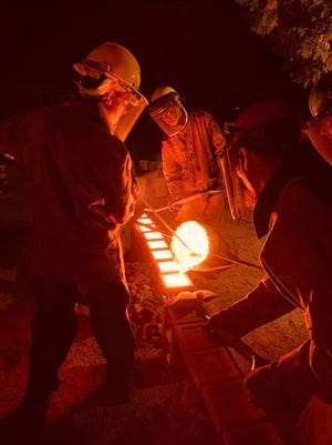 The Peninsula School of Art in Fish Creek will offer its annual Community Iron Pour on Oct. 12 from 4 to 8 p.m.