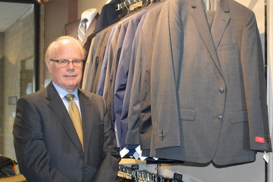 Don Zegers opened Zegers Clothiers in 1993 in De Pere. After 27 years in business, Zegers said he plans to close the shop and retire once an inventory liquidation effort is completed.