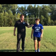 100 yards with Travelers Rest football's Cam Henderson