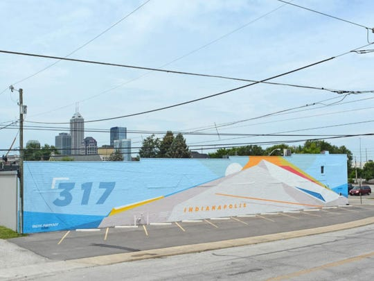 Nick Smith painted this mural at 1027 E. Georgia St.