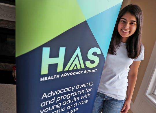 Sneha Dave, an Indiana University student who has a chronic illness, started a national organization to help other youths in a similar situation.