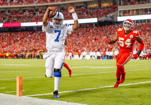 Colts defense stifles Patrick Mahomes, Chiefs juggernaut offense in 19-13 win