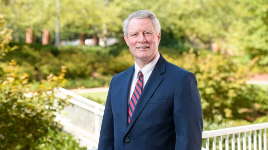 The state college board named Glenn Boyce the new chancellor of the University of Mississippi on Friday, Oct. 4, 2019.