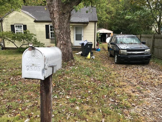 "Knoxville police are investigating the death of a man whose ""mummified"" remains were discovered in a backyard shed at 2306 Greenfield Lane on Oct. 6, 2019."