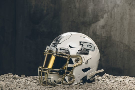 Purdue will wear moon-themed helmets in Saturday's game against Maryland