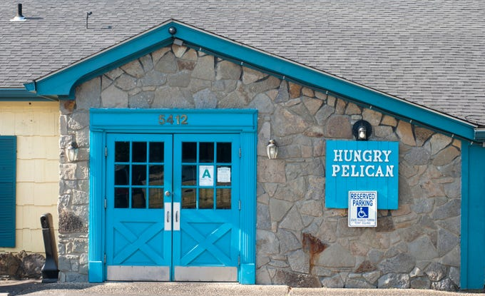 The Hungry Pelican seafood restaurant on Bardstown Road in Fern Creek.