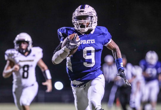 After becoming the school's all-time leading rusher earlier this season, Marion Lukes will look to propel his Charlestown team deep into the playoffs.