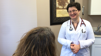 Dr. Adriana Raus talks about her 'direct primary care' practice in Okemos.