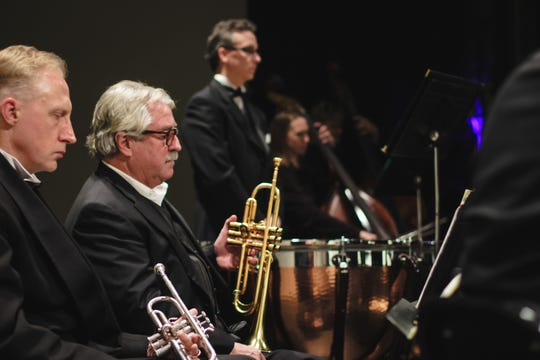 Manitowoc Symphony Orchestra performs.