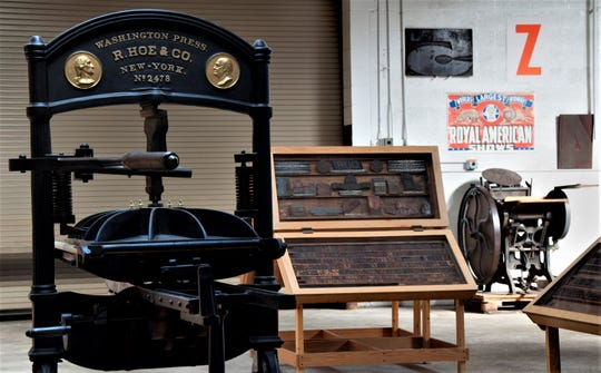 Hamilton Wood Type Museum's Washington Press in Two Rivers.