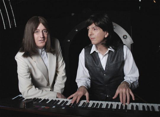 Classical Mystery Tour's Lennon and McCartney.