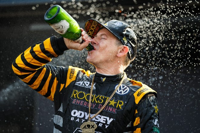 Tanner Foust won the 2019 ARX Championship on Sunday at Mid-Ohio Sports Car Course.