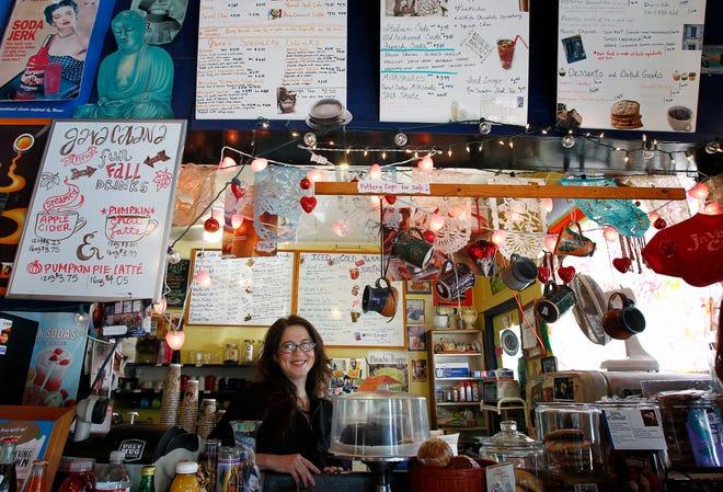 Java Cabana owner Mary Burns, shown in a file photo from 2012, died Oct. 4, 2019, after a battle with lung cancer.