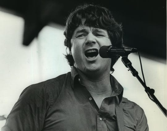 Steve Miller performs at Summerfest in his native Milwaukee in 1982.