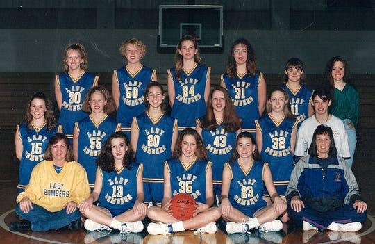 1993-94 Mountain Home Lady Bombers basketball team