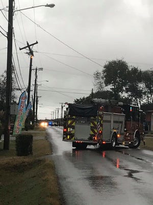 About 700 La Vergne residents are without power after a utility pole caught fire on Monday, Oct. 7, 2019.