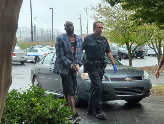 Accused killer Jermaine Agee has been released from the hospital after being treated for a hand injury received when he broke into his estranged girlfriend's home early this morning.