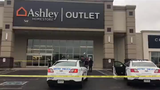 A suspect in an Antioch stabbing that killed a woman and her teenage son was taken into custody Monday, Oct. 7, 2019 morning outside the Ashley furniture store.