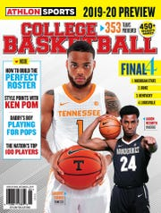 Tennessee's Lamonte Turner and Vanderbilt's Aaron Nesmith are on a regional cover of Athlon's College Basketball Preview.
