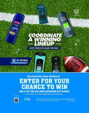 Every football coach worth his weight in whistles has preached 'There's no I in team,' but there is in gift card, and the Army & Air Force Exchange Service is giving shoppers a shot to win $5,000 in Exchange gift cards through the Unilever NCAA Football Sweepstakes.